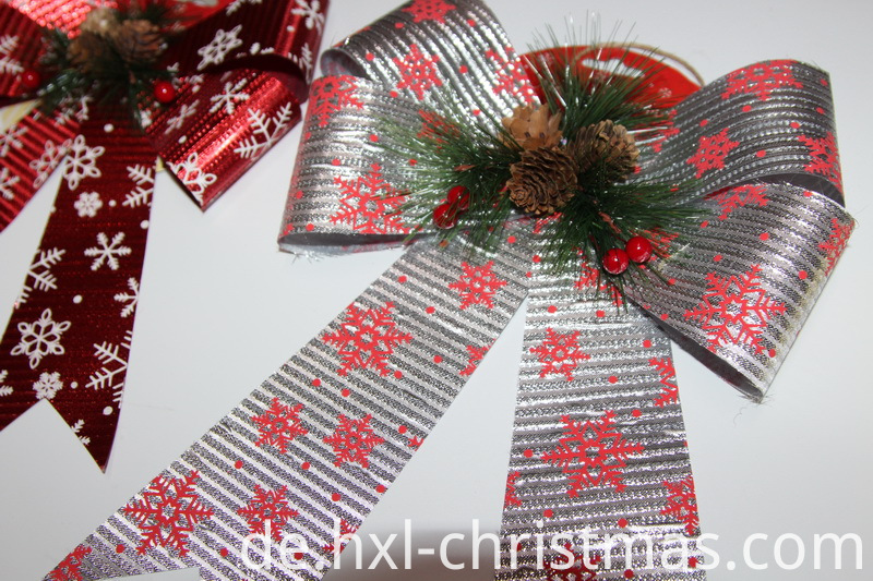 Christmas Gift Ribbon Bow